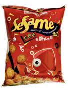 SZE HING LOONG Cuttlefish Snack Puffs (Non-Fried) | 時興隆 真魷味香脆魷魚酥(非油炸)  70g