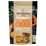 GOLDEN DUCK -  Crab Tempura Crisps Salted Egg Yolk Flavor | 新加坡金鴨 鹹蛋蟹肉天婦羅 110g