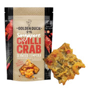 GOLDEN DUCK - Crab Tempura Crisps Chilli Flavor | 新加坡金鴨 辣蟹肉天婦羅 51g/102g