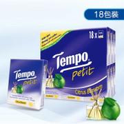 Tempo Petit Pocket Tissue Citrus Blossom Scent| Tempo 紙巾香薰果味【1包/18包】
