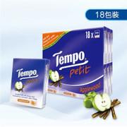TEMPO Petit Pocket Handkerchiefs Apple Wood Scent| TEMPO 紙巾蘋果木味【1包/18包】