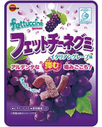 Bourbon Fettuccine Grape Gummy |日本百邦 長條桃軟糖 巨峰提子口味 50g