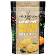 GOLDEN DUCK - Potato Chips Salted Egg Yolk Flavor | 新加坡金鴨 黃金鹹蛋薯片 125g [Clearance] (Exp. Oct 28)