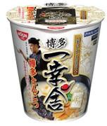 NISSIN Cup Noodles Hakata Ikkousha Rich Ton Flavor   日清 博多一幸舍濃厚豚骨湯味即食麵 (杯麵) 79g