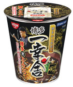NISSIN Cup Noodles Hakata Ikkousha Rich Black Ton Flavor | 日清 博多一幸舍黑豚骨湯味即食麵 (杯麵) 79g