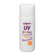 PIGEON UV Baby Milk Waterproof |PIGEON 嬰幼兒UV防水防曬乳液50g SPF50/PA++++
