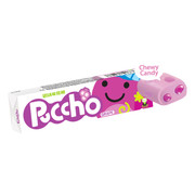 UHA Puccho Stick Candy Grape Flavor| 味覺糖 巨峰果肉條裝軟糖 50g 10Pcs [日本限定]