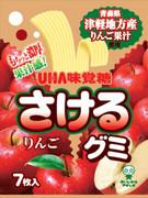 UHA Sakeru Fruit Juice Gummy (Apple Flavor) | 味覺糖 蘋果味扭條乳酸菌果汁軟糖 (青森縣産) 7pcs