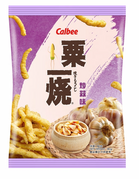 CALBEE - GRILL A CORN Fried Garlic Flavor |粟一燒 抄蒜味 80G