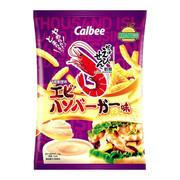 CALBEE - Prawn Cracker Island Shrimp Burger Flavor |卡樂B 千島蝦堡味蝦條 75G