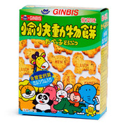 FOUR SEAS Animal Shaped Biscuit Sticks Seaweed Flavor | 四洲 愉快動物餅紫菜味 37G