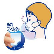 KOBAYASHI Mask w/ Wet Filter for Kids | 小林製藥 加濕兒童口罩 3個 (葡萄味)