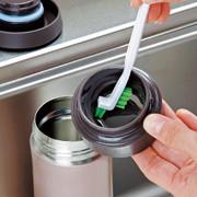 日本 Mameita保溫瓶/奶瓶刷/水壺上蓋刷清潔組3支入