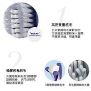 EBISU Premium Toothbrush for Adult 48孔U型螺旋平毛牙刷 1枝 (No. 48 中毛)
