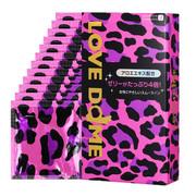 OKAMOTO  Love Dome Condom 岡本 粉紅豹紋蘆荼潤滑避孕套 12只/盒