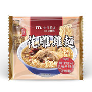 TTL Noodle Hua Diao Chicken Flavor |  台酒花雕雞麵【碗裝/包裝】
