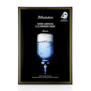 JM SOLUTION Water Luminous S.O.S Ringer Mask 水滋養急救面膜(黑臻版) 10 Sheets/Pack