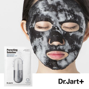 DR. JART+ | Dermask Solution Corrige-Pores Sheet Mask 黑炭泡泡清潔面膜 (5 Sheets/Pack)