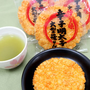 BONCHI Cod Roe Cracker | 辛子明太子大型揚煎餅 6S