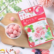KRACIE FUWARINKA Beauty Strawberry Rose Flavor | 吐息軟糖 草莓玫瑰味 32G