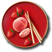 GLICO Pocky Chocolate Biscuit White Peach & Strawberry Flavor | 固力果 白桃草莓 4packs [季節限定]