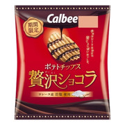 CALBEE - Potato Chips Chocolate Flavor |卡樂B 贅沢朱古力味薯片 52G
