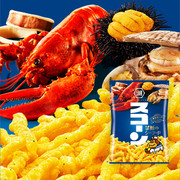 KOIKEYA Scorn Corn Crsips Seafood Flavor |湖池屋 禁斷海鮮味脆條 75G