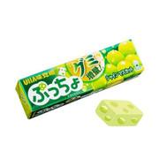 UHA Puccho Stick Candy Muscat Flavor | 味覺糖 青提味 果肉條裝軟糖  50G