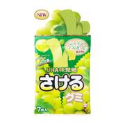 UHA Sakeru Fruit Juice Gummy (Muscat Flavor) | 味覺糖 青提味果汁軟糖 7 pcs