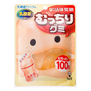 UHA Mucchiri Gummy Probiotic Drink | 味覺糖乳酸飲品味 軟糖  85G
