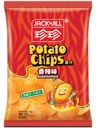 JACK N JILL Potato Chips Hot & Spicy Flavor | 珍珍香辣薯片60g