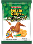 JACK N JILL Potato Chips Honey Wings Flavor | 珍珍薯片蜜糖烤翼味 140g (重量級大包)