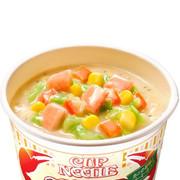 Nissin - Rich Crab Cream Soup Cup Noodles | 日清 - 濃厚蟹膏忌廉湯味杯麵 108g