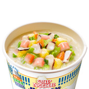 Nissin - Hokkaido Rich Milk Seafood Cup Noodle | 日清 - 特濃北海道牛乳海鲜杯麵 81g