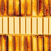 KIT KAT Baked Custard Pudding Flavor Chocolate Waffle   KIT KAT 烤布丁味古力威化餅