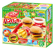 Popin' Cookin' DIY Hamburger Kit | 知育果子 食玩 開心快餐店 22g