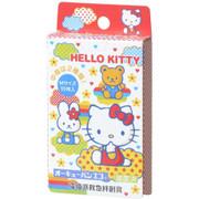 NICHIBAN Adhesive Bandage Hello Kitty B | 吉蒂貓 兒童 急救 膠布 [日版] 10pcs