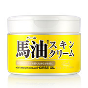 LOSHI - Moisture Skin Cream Horse Oil |  樂絲 天然滋潤馬油幼滑護膚乳霜 220g