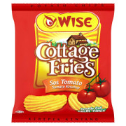 WISE Potato Chips Tomato Ketchup Flavor | 威士 蕃茄醬風味薯片(包裝) 22G/65G