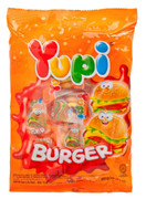 YUPI Gummy Candy Hamburger | YUPI 漢堡橡皮糖 96g