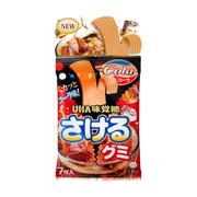 UHA Sakeru Fruit Juice Gummy (Cola Flavor) | 味覺糖 可樂味扭條軟糖 7pcs