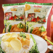 CALBEE - Potato Chips  Chicken Rice with Ginger & Scallion Sauce Flavor | 卡樂B薑蓉切雞飯味薯片 70g