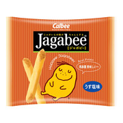 CALBEE - JAGABEE Potato Sticks Original Flavor | 宅卡B 薯條原味 Bag Size (17G X5 Small Pack) 85G