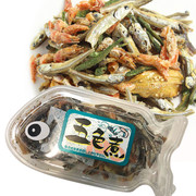 OKABE Mixed Dried Fish Snack | 岡部 五色煮小魚乾 小食(魚型盒裝) 55g