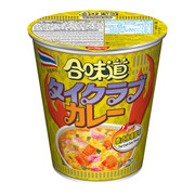 NISSIN Cup Noodles Regular Cup Thai Crab Curry Flavor | 日清 合味道 泰式咖喱蟹味即食麵 (杯麵) 75g
