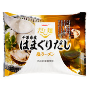 TABETE Clam Soup Base Flavor Dried Ramen | 千葉縣大蛤蜊塩味湯拉麵 107G
