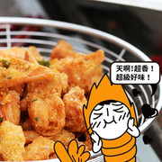 JIEJIE & UNCLECAT - Shrimp Head Salted Egg MaLa Flavor | 爵爵&貓叔 鹹蛋無腦蝦頭 麻辣味 70g