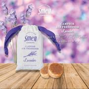 Smell Lemongrass - Camphor air freshener 30g (Lavender)   天然植物手工防蚊磚香包 30g 薰衣草