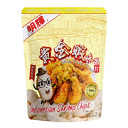 Brilliant Indonesia Shrimp Chips Golden Shrimp Flavor | 明輝蝦片黃金蝦味蝦片 50G