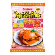 CALBEE - Vegetable Fries Singapore Style Chilli Crab Flavor 卡樂B什菜薯條  星洲辣椒蟹味 50G